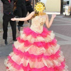 Quinceañera dress & accessories